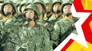 ЖЕНСКИЕ ВОЙСКА КНДР (Северная Корея) Военный парад 2020   WOMEN'S TROOPS OF NORTH KOREA   북한의 여성 군대
