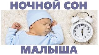 НОЧНОЙ СОН РЕБЕНКА | Как приучить ребенка спать всю ночь не просыпаясь