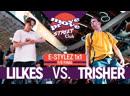 TRISHER vs LIL KES E STYLEZ 1x1 @ M P STREET CLUB 2019