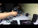 Lego build The Tumbler 2014 set 76023 time lapse