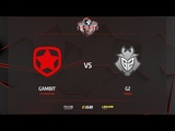 Gambit vs G2, cache, PGL Major Krak