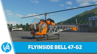 Обзор вертолёта Bell 47-G2 от FlyInside для Microsoft Flight Simulator