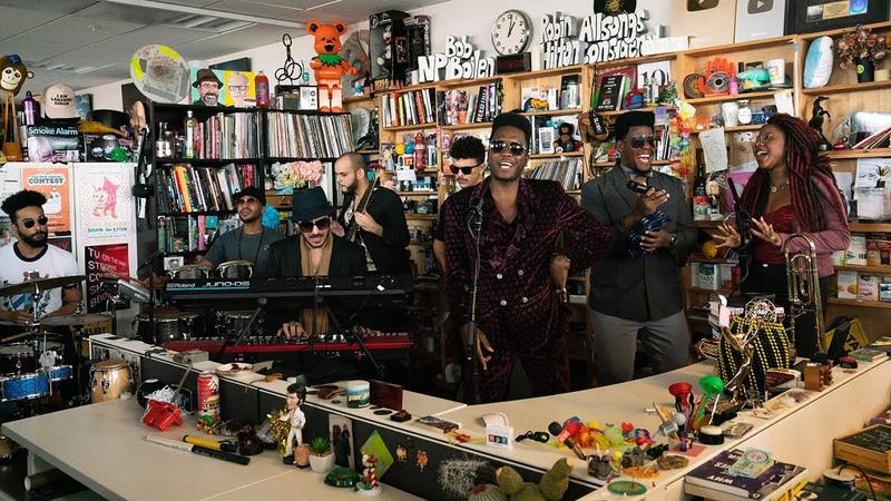 Cimafunk NPR Music Tiny Desk Concert