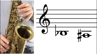 ALTO SAX: How to Play Low B-flat (A-sharp)
