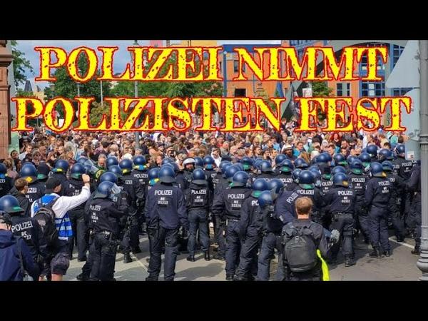 EINIG GEGEN RECHT UND FREIHEIT Politik und Polizei verhindern Versammlungsrecht in Berlin