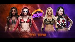 WWE 205 Live 2020 (Alicia Fox & Ayeon Lee Vs Mandy Rose & Abigail)