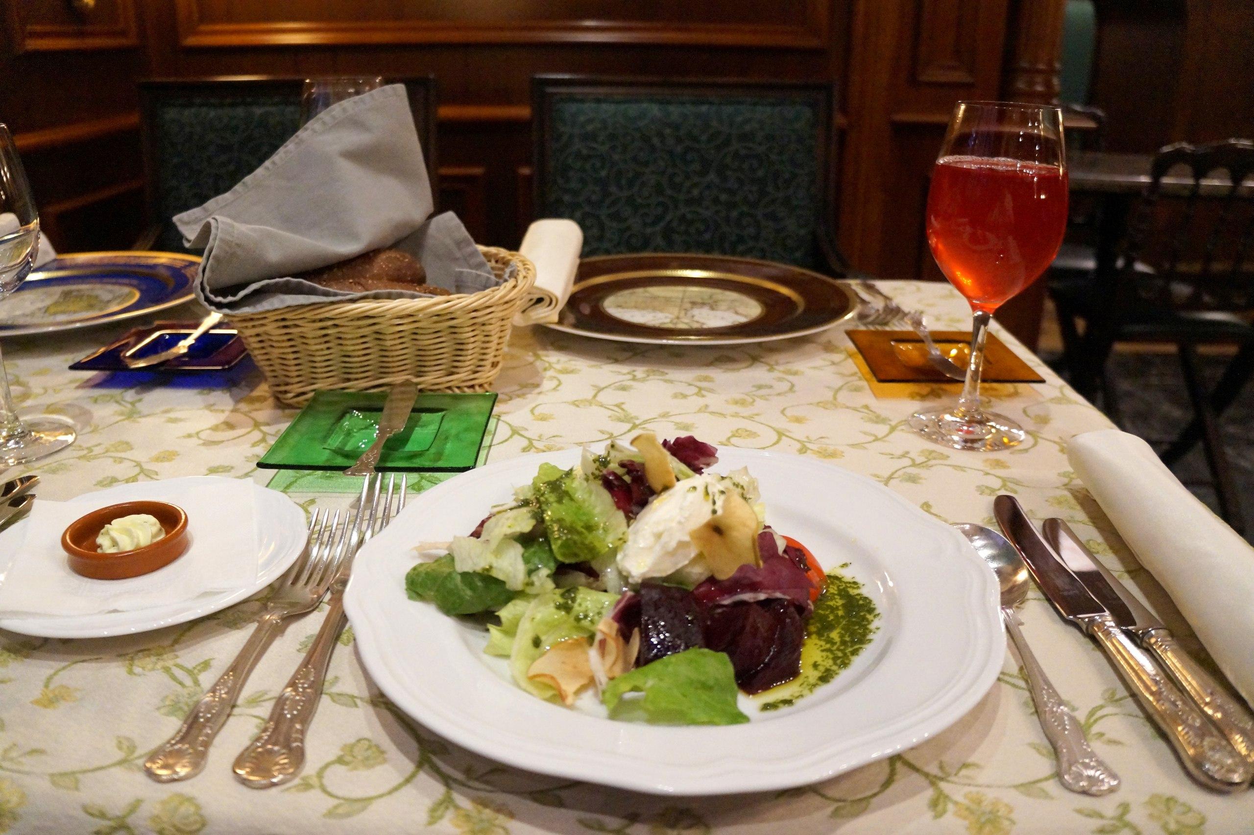 Обеды в ресторане Русского географического общества