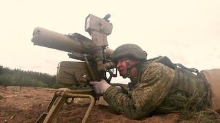 Стрельбы из противотанковых ракетных комплексов под Воронежем