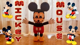 Origami 3D Mickey Mouse tutorial ITA
