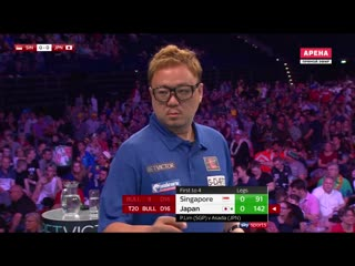 Singapore vs Japan (PDC World Cup of Darts 2019 / Round 2)
