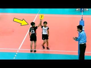 Опять эти детки!!!  Что же они умеют???Crazy Kids Skills in Volleyball (HD)