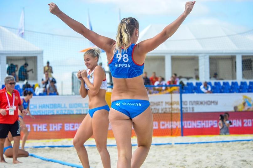 Все — на пляж! Станет ли песчаный гандбол олимпийским?, изображение №4