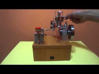 Самодельный четырехтактник / homemade four-stroke engine