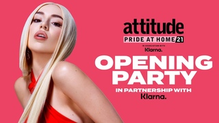 Ava Max headlines Attitude Pride at Home Opening Party, in partnership with Klarna #livestream