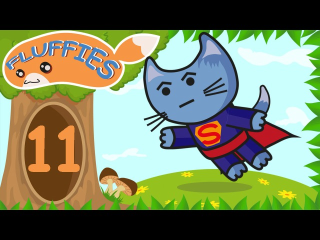 Cartoon Animals for kids. Pig, Cat and Lemur. Funny Animals building a boat. Season 1. Episode 11