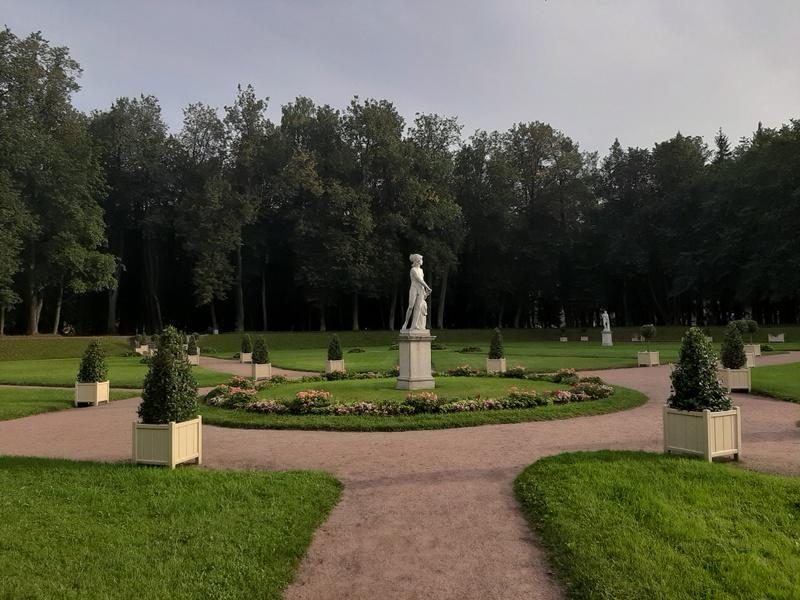 Голландские сады Гатчинского парка.