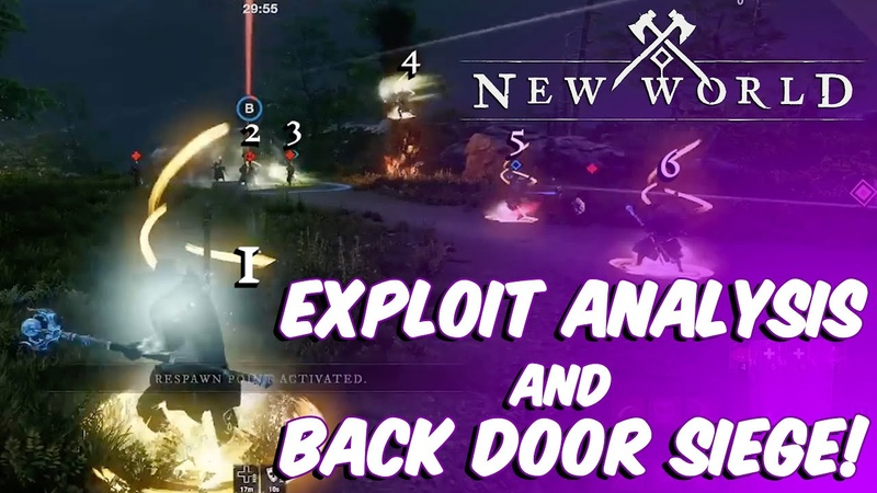 New World Exploit Analysis and Backdoor Siege The Fall of Everfall Crone US West