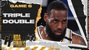 LeBron James Triple-Double 28 Pts 10 Ast 14 Reb Full Game 6 Highlights vs Heat | 2020 NBA Finals