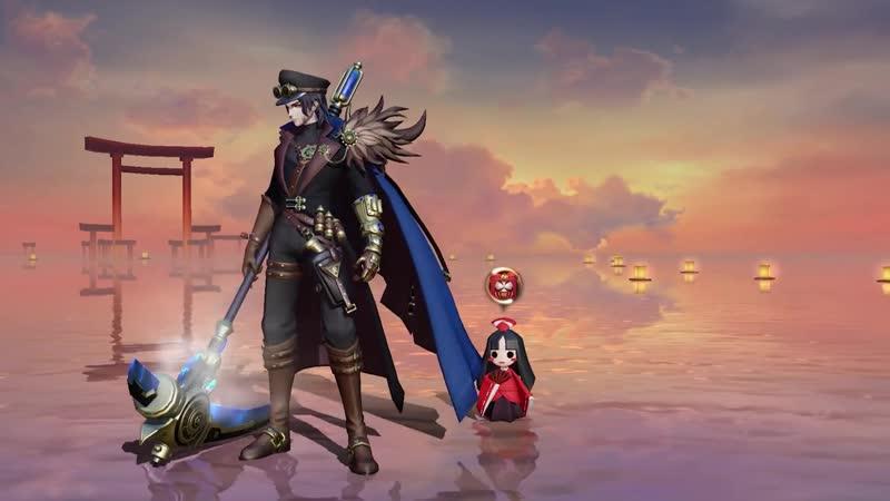 Kuro Mujou's brand new Steam Age skin Gold Breaker