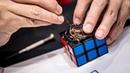 Self Solving Rubik's Cube Robot