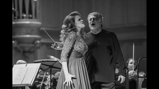 "Polina Shamaeva and Jose Cura. ""Mon coeur s'ouvre a ta voix"" from ""Samson et Dalila"" C. Saint-Saëns"