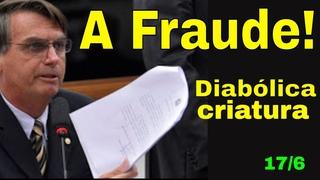 Bolsonaro e a fraude! Cadê a prova? Eletrobrás e a milicia do Senado! Quem crê nas mentiras do Demo?