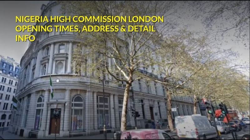 NIGERIAN HOUSE HIGH COMMISSION LONDON ADDRESS PHONE NO OPENING TIMES Detail Info
