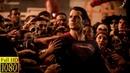 Супермен спасает людей.Бетмен против СуперменаНа заре справедливости.2016