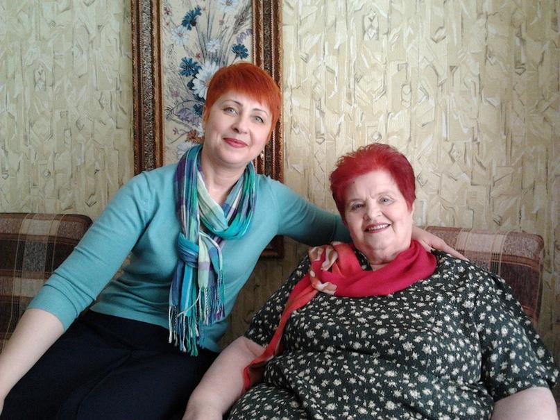 С дочерью Ольгой, 2013 год.