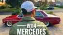 1972 Classic Mercedes Benz 250 w114 [ 4K ] Dec. 2019 iPhone X mobile gimbal cinematic