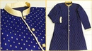How to sew Sherwani style kurta | How to sew designer Kurta