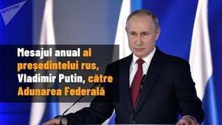 Annual message of Russian President Vladimir Putin to the Federal Assembly
