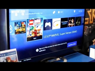 Playstation 4 - User Interface exclusive! First look hands-on PS4 UI