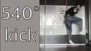 Тхэквондо 540° kick taekwondo