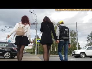 Upskirt overse pantyhose tights girl sexy подсмотрено девочки в колготках