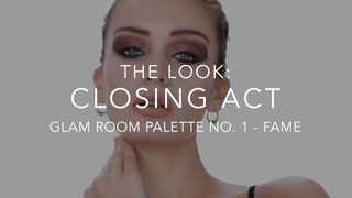SMOKY EYE LOOK WITH GLAM ROOM PALETTE NO.1