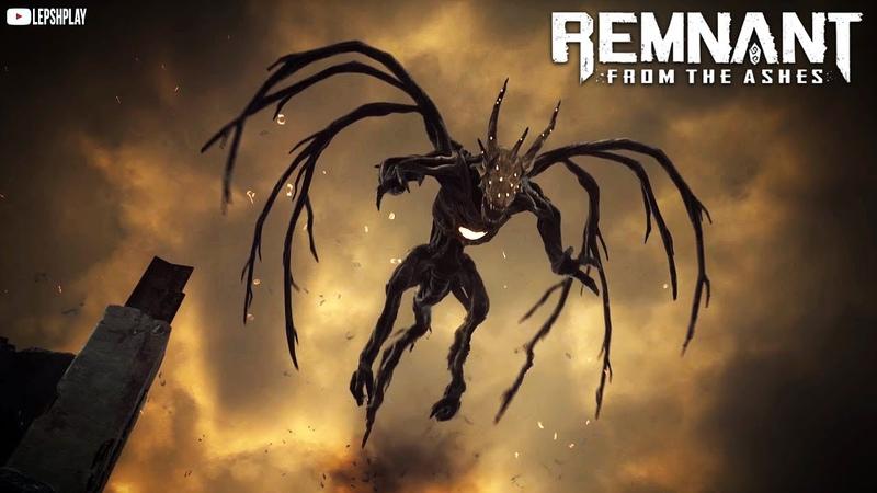 Remnant From The Ashes прохождение Опалитель дракон босс оружие Вулкан Пылающее сердце