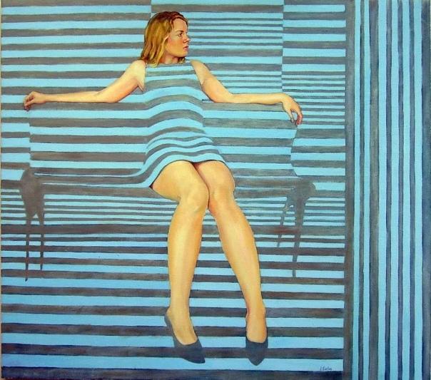 Джейн Экслес талантливая художница из Великобритании Взлет ее карьеры начался очень просто.Мастерство живописания девушка изучала в колледже Страуда, потом в колледже Челтнема.Но, когда ей