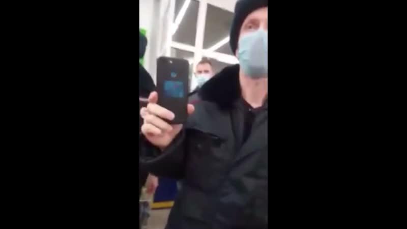 Антимасочник из СССР подал в полицию заявление на барнаульский магазин