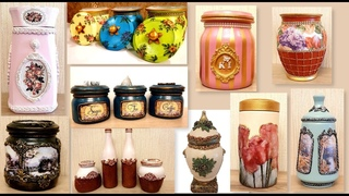 10 Amazing Diy Ideas for recycling Jars | Decorating Glass Jars