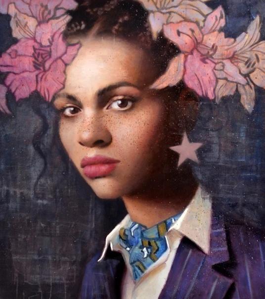 Современный канадский живописец Кай Маккол рисует свои картины в сюжетах портретного сюрреализма, но придает им реалистичные черты Сам стиль канадского художника имеет отчетливое направление