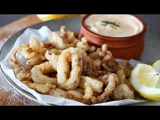 Crispy Fried Calamari #Shorts
