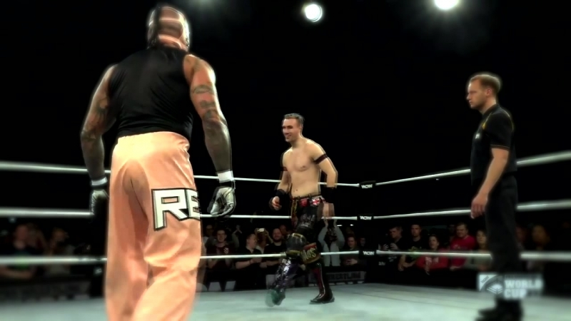 Will Ospreay vs Rey Mysterio WCPW World Cup 17 Highlights