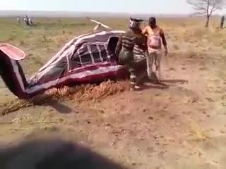 военные учения в Африке, подготовка вертолетчиков)))
