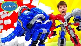 Трансформеры Металионы в шоу Гулливерия! Распаковка и обзор нового робота. Игрушки для мальчиков.