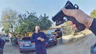 Bodycam Footage Shows Riverside Police Shooting Armed Parolee