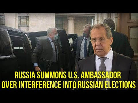 BREAKING Lavrov Russia Summoned U S Ambassador Over American Interference Into Our Elections