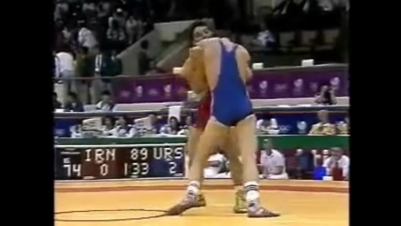 Сеул Олимпиада 88, Даулет Турлыханов полуфинал.mp4