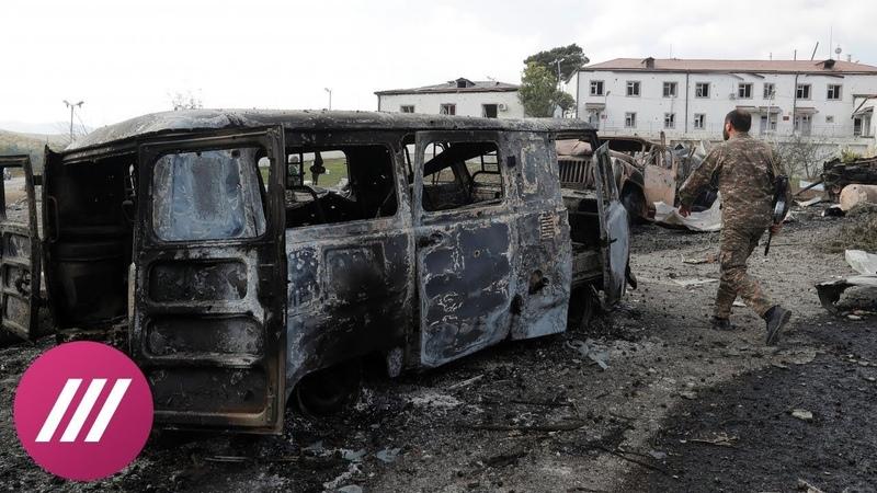 Когда не стреляют мы уже беспокоимся Репортаж из Мартакерта в Карабахе где не утихают взрывы