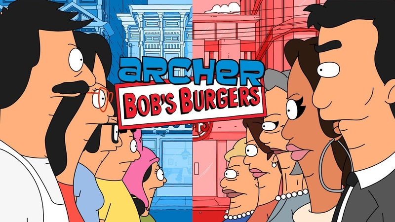 Archer Bob's Burgers I Had Something For This Burger